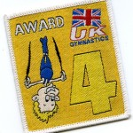 Gym Award Badge Sew On or Iron On