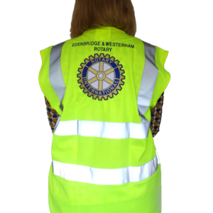 Rotary Large logo High Vis jacket