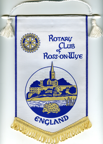 Rotary Woven Pennant