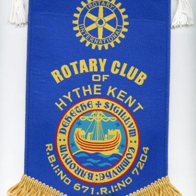 Rotary Pennant
