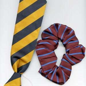 School Tie and Ruffle