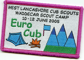 Scout Euro Camp Badge
