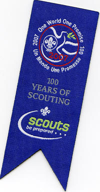 Scout Woven Book Mark