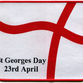 St Georges Day Mouse Mat 19.5cm x 16.5cm