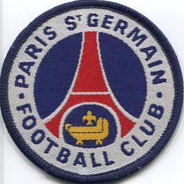 Paris St Germain Sew On Woven Badge 7.5cm Circle