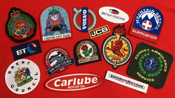 Customise your identity with a Woven Badge