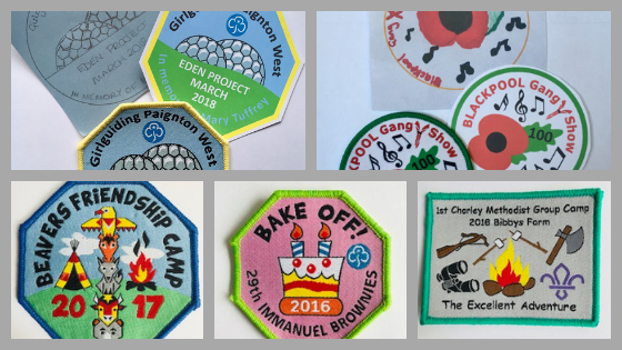 Scout Badges and Girl Guiding Badges are so Inspiring
